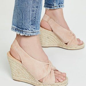"Joie ""Kailli"" espadrille wedge sandals Size 41 NEW"